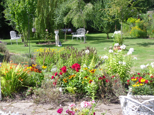 garden residential home Devon
