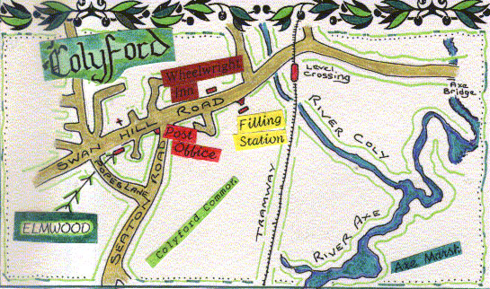 location map care home Devon